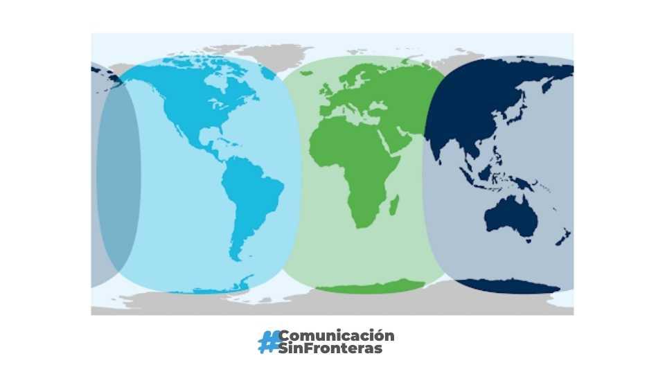 Mapa de Cobertura Inmarsat