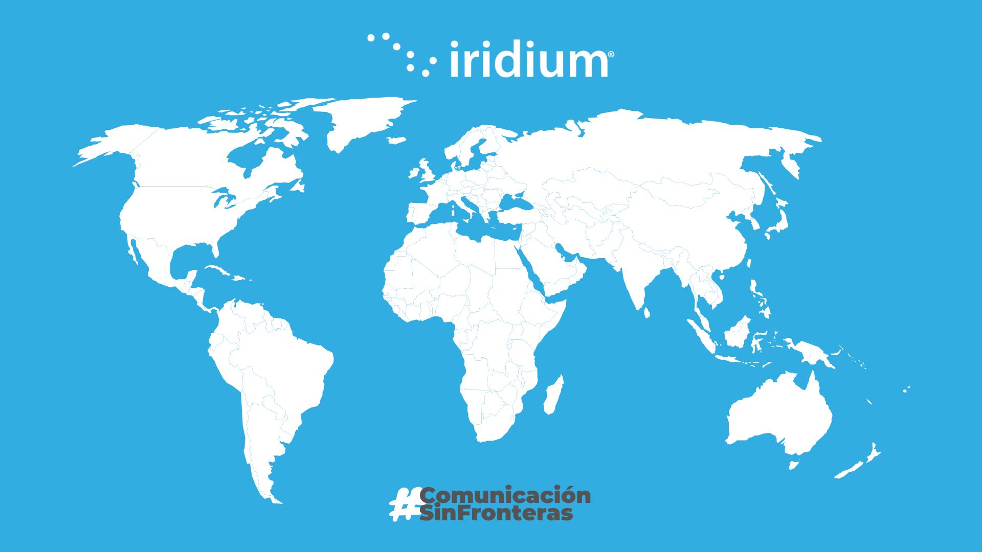 Mapa de Cobertura Iridium