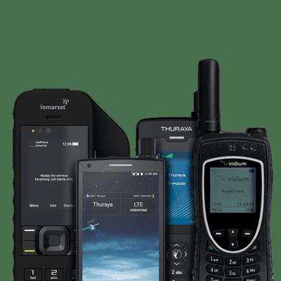 Teléfonos Vía Satélite