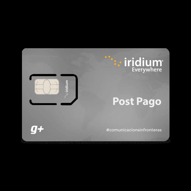 Recarga Iridium Post Pago