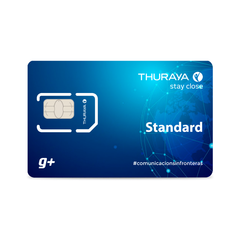 Recarga Thuraya standard